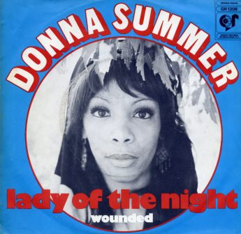 DONNA SUMMER LADY OF THE NIGHT IMPORT
