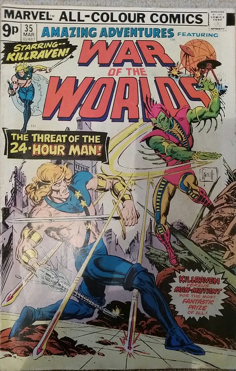 MARVEL WAR OF THE WORLDS