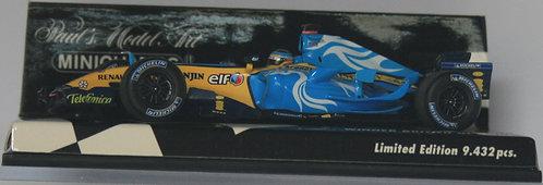FERNANDO ALONSO WINNER BRITISH GP 2006 1:43