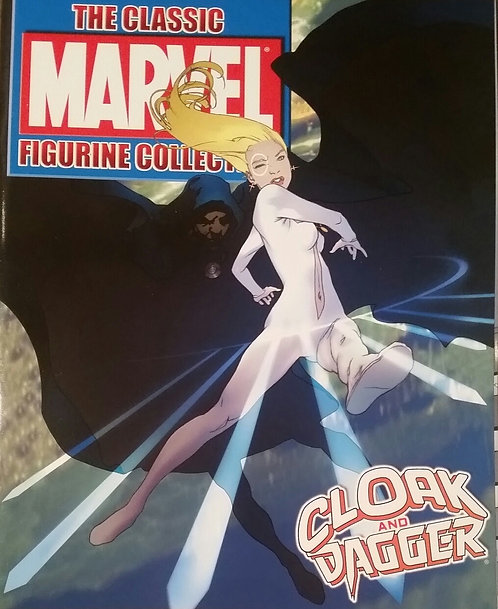 MARVEL FIGURINE COMIC COAK AND DAGGER