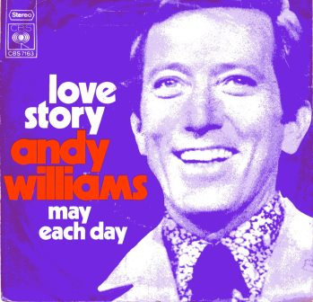 ANDY WILLIAMS LOVE STORY IMPORT ISSUE