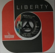 GARY LEWIS SEALED WITH A KISS USA ISSUE