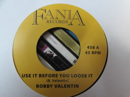 BOBBY VALENTIN USE IT BEFORE YOU LOOSE IT