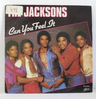 THE JACKSONS CAN YOU FEEL IT  DUTCH ISSUE
