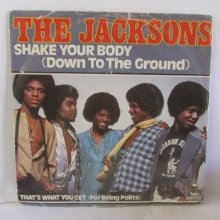 THE JACKSONS SHAKE YOUR BODY   DUTCH ISSUE