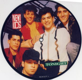 NEW KIDS ON THE BLOCK TONIGHT PICTURE DISC