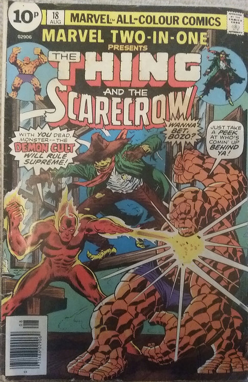 MARVEL THE THING AND THE SCARECROW