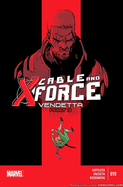 CABLE AND X FORCE 019