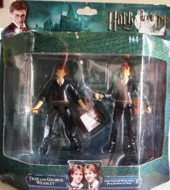 FRED AND GEORGE WEASLEY  FIGURES