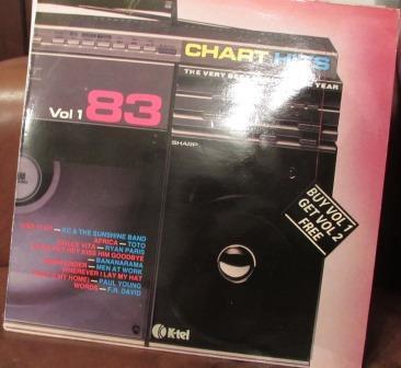 CHART HITS VOL 1 83 LP