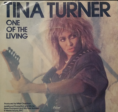 TINA TURNER ONE OF THE LIVING US