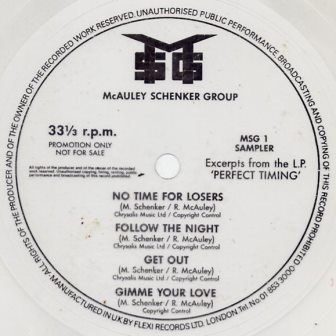 MCAULEY SCHENKER GROUP FLEXI INC NO TIME 4 LOOSERS