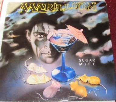 MARILLION SUGAR MICE SIGNED 12""