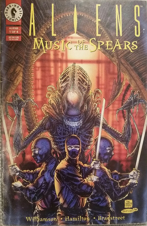 ALIENS MUSIC OF THE SPEARS 1 OF 4