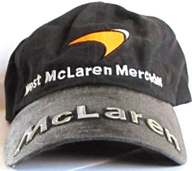 WEST McLAREN MERCEDES  CAP