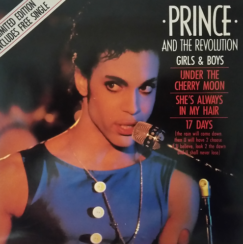 PRINCE AND THE REVOLUTION LIMITED EDITION