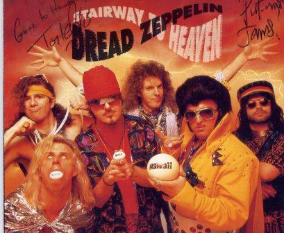 DREAD ZEPPELIN STAIRWAY TO HEAVEN CDs