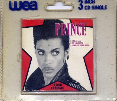 """PRINCE KISS RARE 3"""" CD"""