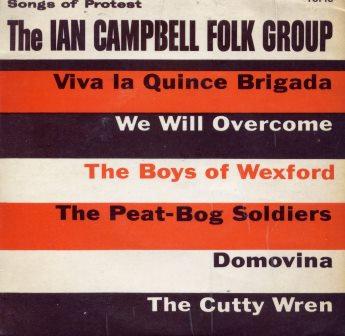 THE IAN CAMPBELL FOLK GROUP VIVA LA QUINECE (EP)