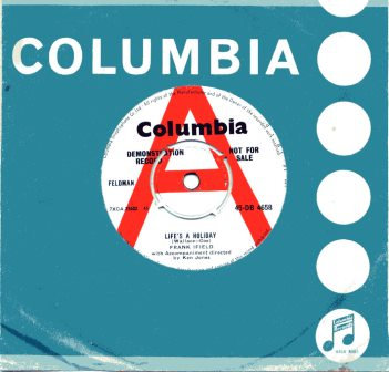 FRANK IFIELD LIFE'S A HOLIDAY DEMO