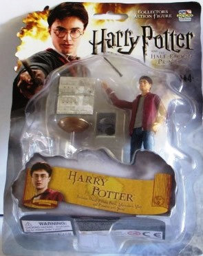 HALF BLOOD PRINCE HARRY POTTER FIGURE
