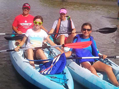 Cherry Grove Kayak Tours