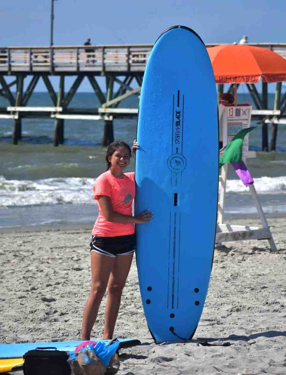 north myrtle beach surf lessons