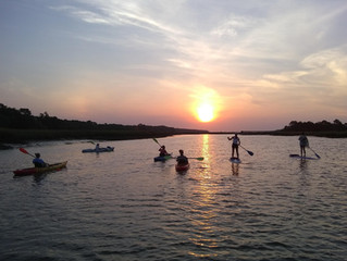 sunrise kayak tour myrtle beach