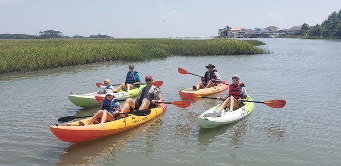 kayak rentals north myrtle beach