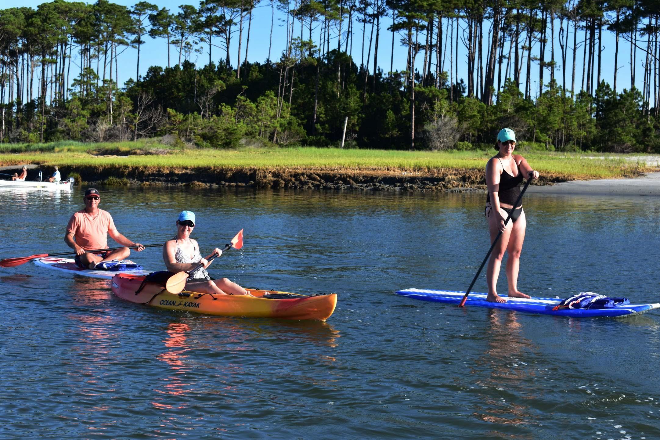 sup and kayak tours