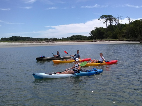 group kayak tours myrtle beach