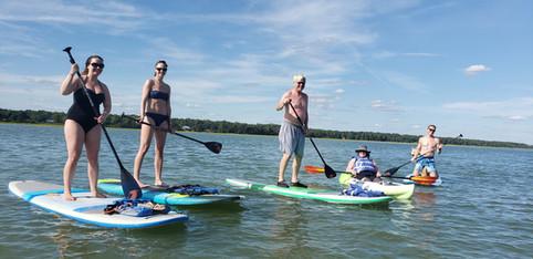 SUP and kayak rentals