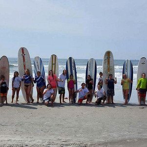 group surf lessons myrtle beach