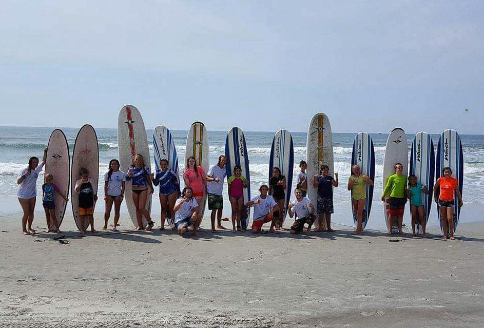 Myrtle Beach Surf School for all ages