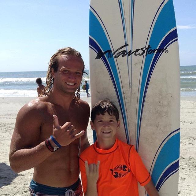 surf lesson myrtle beach