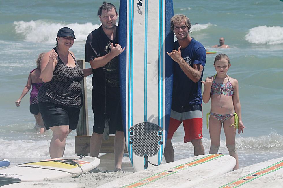 Myrtle Beach Surf Lessons