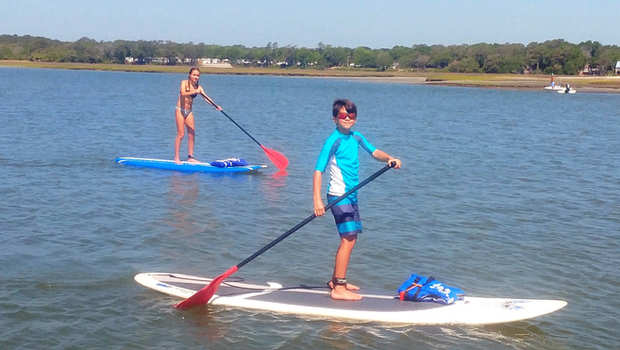 Paddleboarding for kids