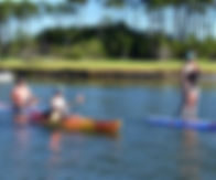 kayak myrtle beach paddle board