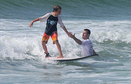 best place to learn to surf