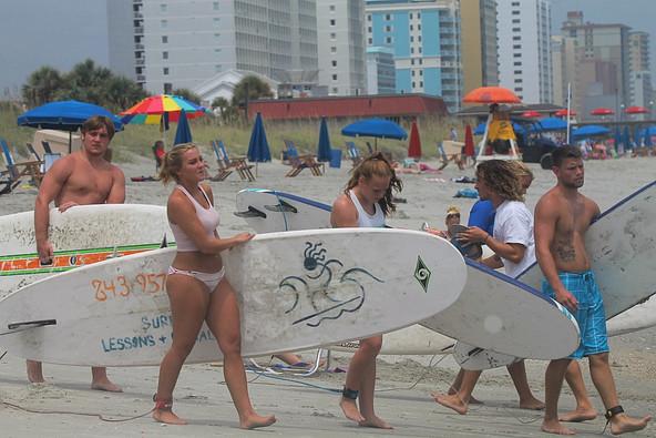 Surfboard Rentals myrtle beach