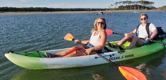 tandem two person kayak rentals