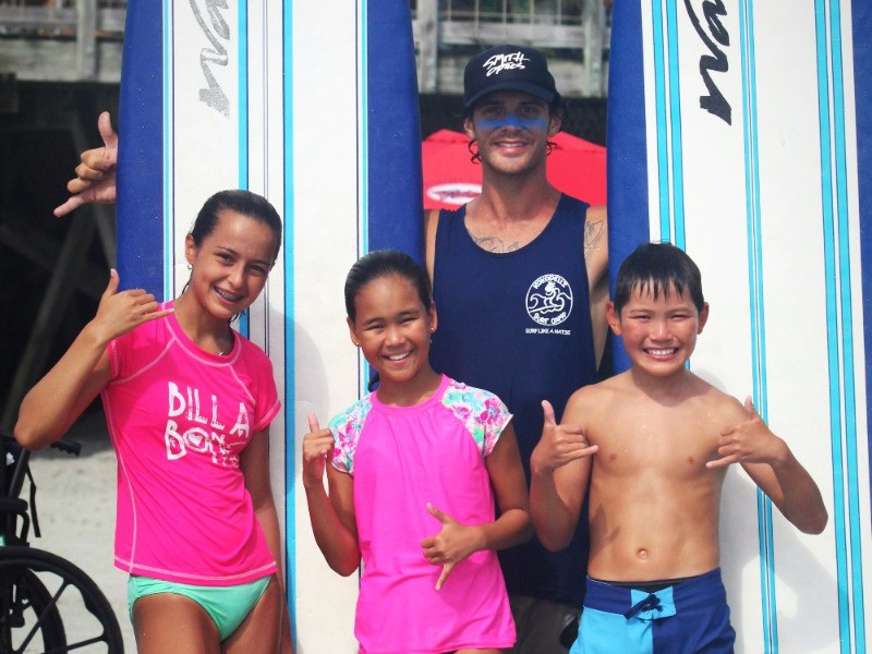Myrtle beach surf lessons for kids
