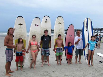 North Myrtle Beach Surf School