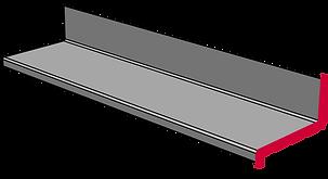 GFK Treppenstufen mit Aufkantung