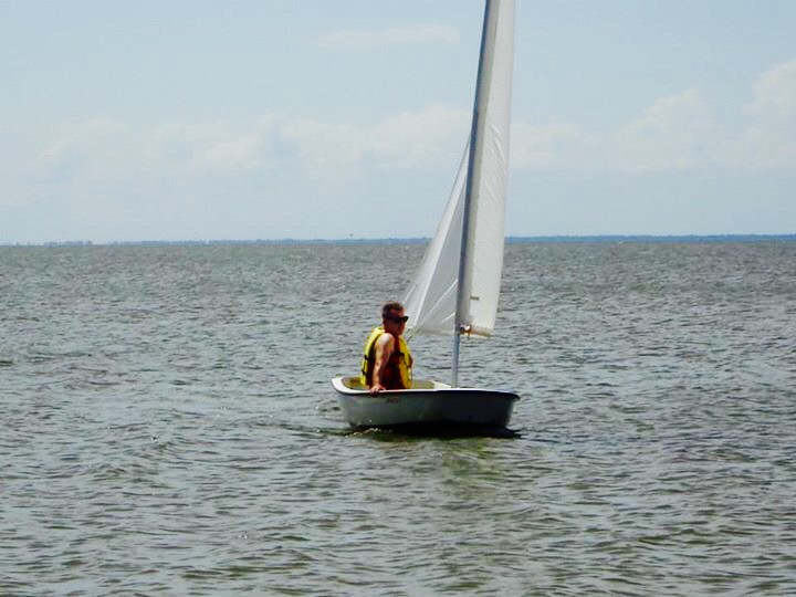 Sailing the Dinghy