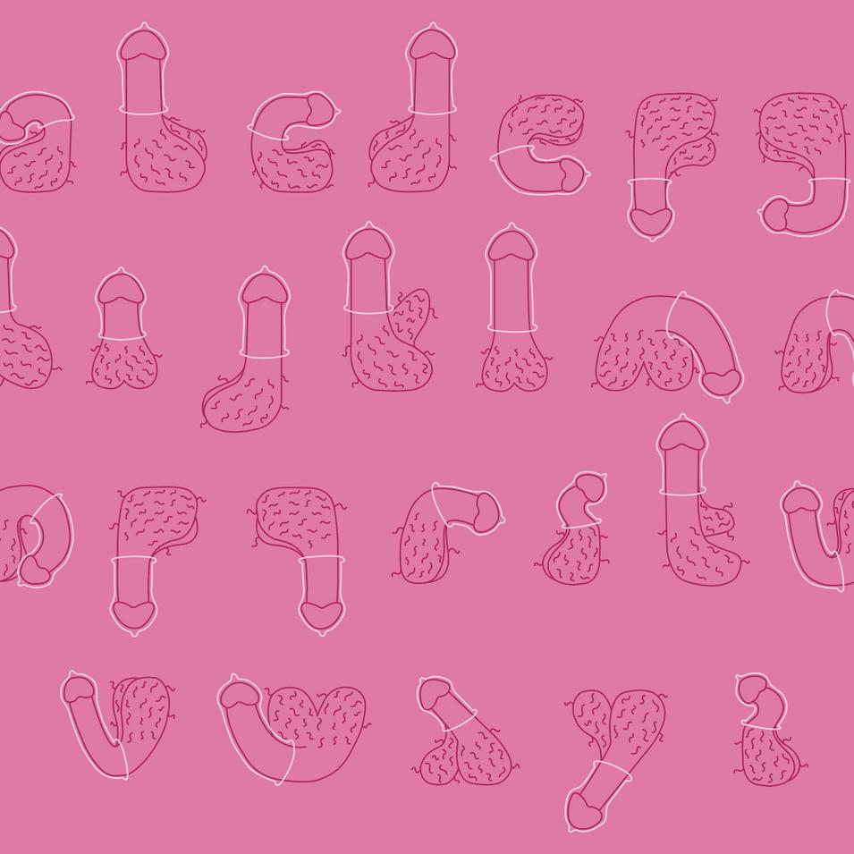 Alphabet With Condoms