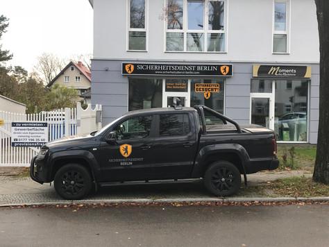 Sicherheitsdienst Berlin wechselt seinen Standort.