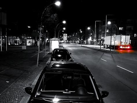 Kriminelle sind am meisten im Schutz der Dunkelheit unterwegs!