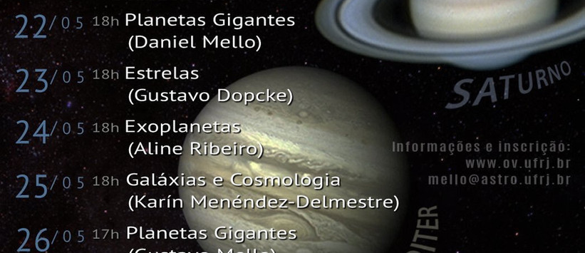 Giant Planets' Week at the Valongo Observatory, 2018
