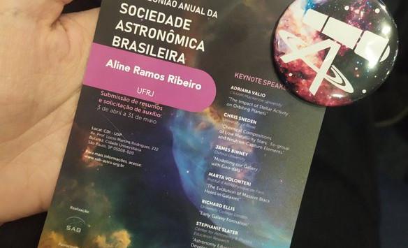 XLIII Anual Reunion of the Brazilian Astronomical Society (SAB), 2019